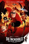 Poster de «The Incredibles - Os Superheróis»
