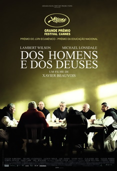 Poster de «Dos Homens e dos Deuses»