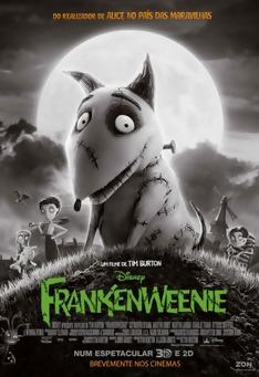 Poster de «Frankenweenie »