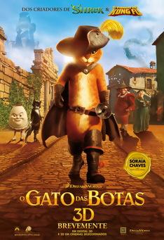 Poster de «O Gato das Botas (V.P. - 3D)»