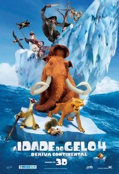 Poster de «A Idade do Gelo 4: Deriva Continental (V.O. - 3D)»