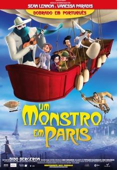 Um Monstro em Paris (Dublado) BDRip RMVB