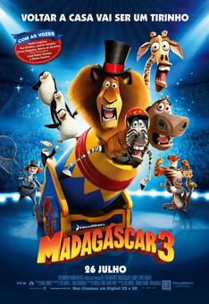 Poster de «Madagáscar 3 (V.P. - 3D)»