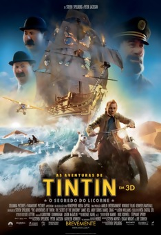 Poster de «As Aventuras de Tintin - O Segredo do Licorne (V.O. - 3D)»
