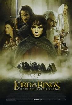 Poster de «O Senhor dos Anéis - A Irmandade do Anel»