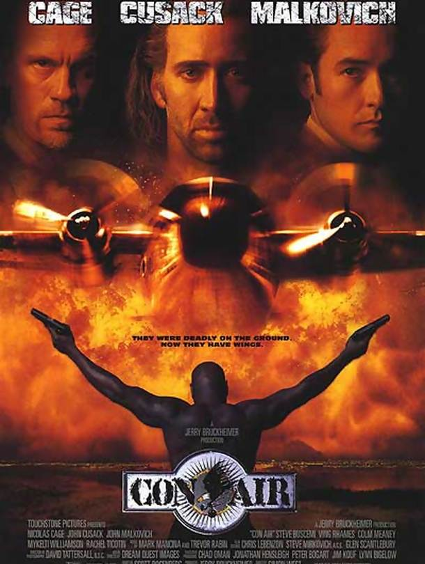 Poster do filme Con Air - Fortaleza Voadora