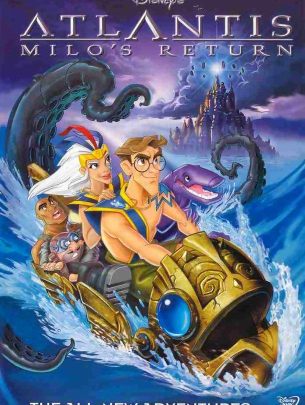 Atlântida: O Regresso de Milo – Dobrado