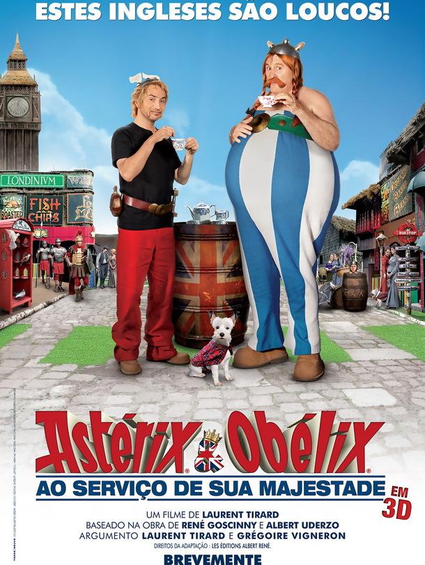 Poster de «Astérix & Obélix: Ao Serviço de Sua Majestade »