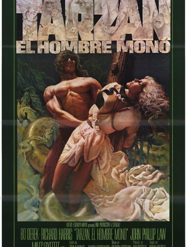 Tarzan The Ape Man Homem Macaco Media Filme Sapo