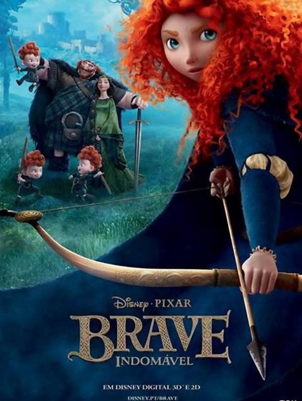 Brave: Indomável – Dobrado
