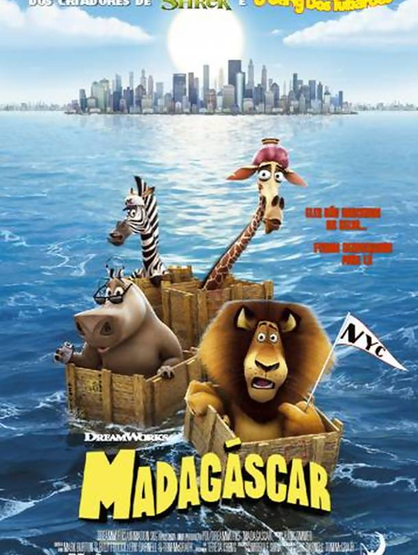 Poster do filme Madagáscar