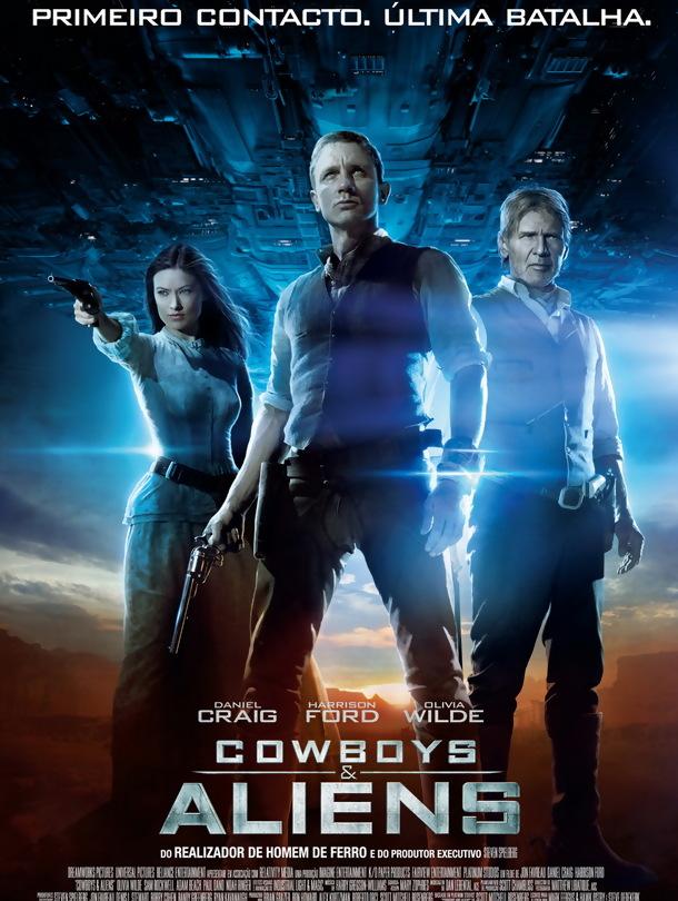 Poster de «Cowboys & Aliens»