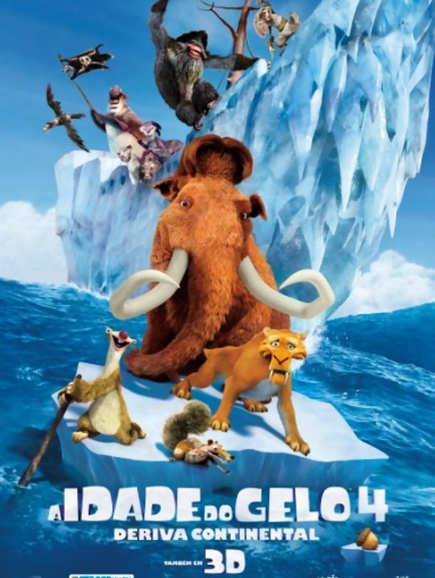 Poster de «A Idade do Gelo 4: Deriva Continental (V.P. - 3D)»
