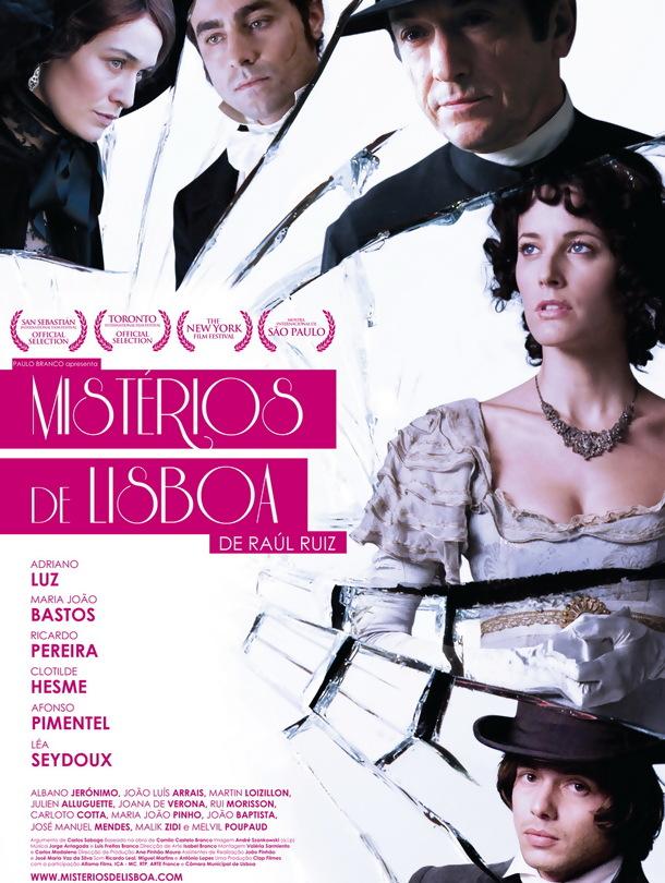 Poster do filme Mistérios de Lisboa