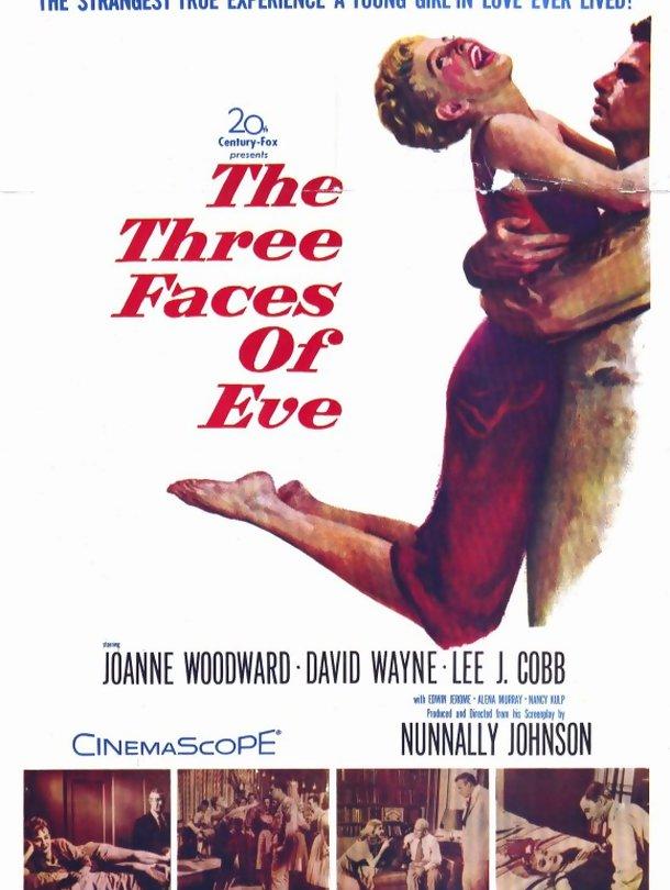 Poster de «As Três Faces de Eva»