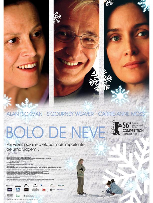 Poster de «Bolo de Neve»
