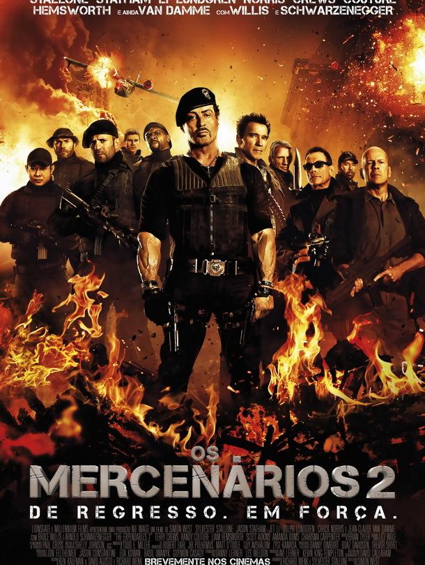 Os Mercenários 2 – Legendado