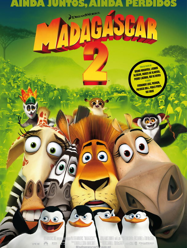 Poster do filme Madagáscar 2