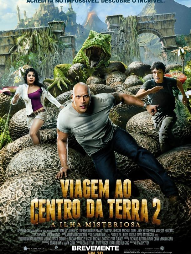 Poster do filme Viagem ao Centro da Terra 2: A Ilha Misteriosa