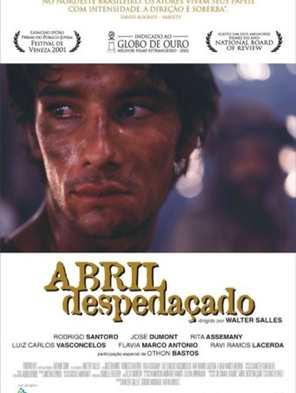 Poster do filme Abril Despedaçado