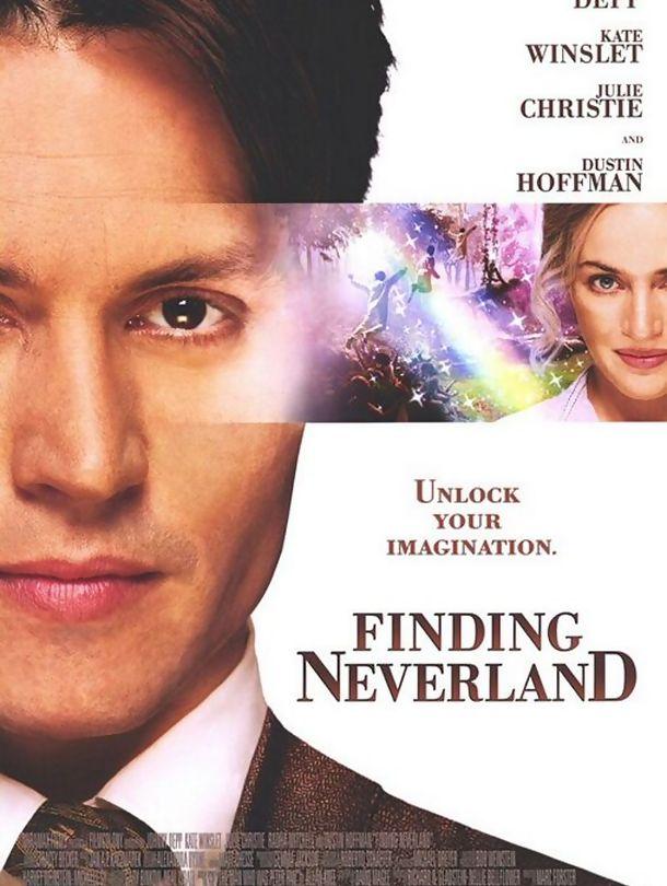 Poster do filme À Procura da Terra do Nunca